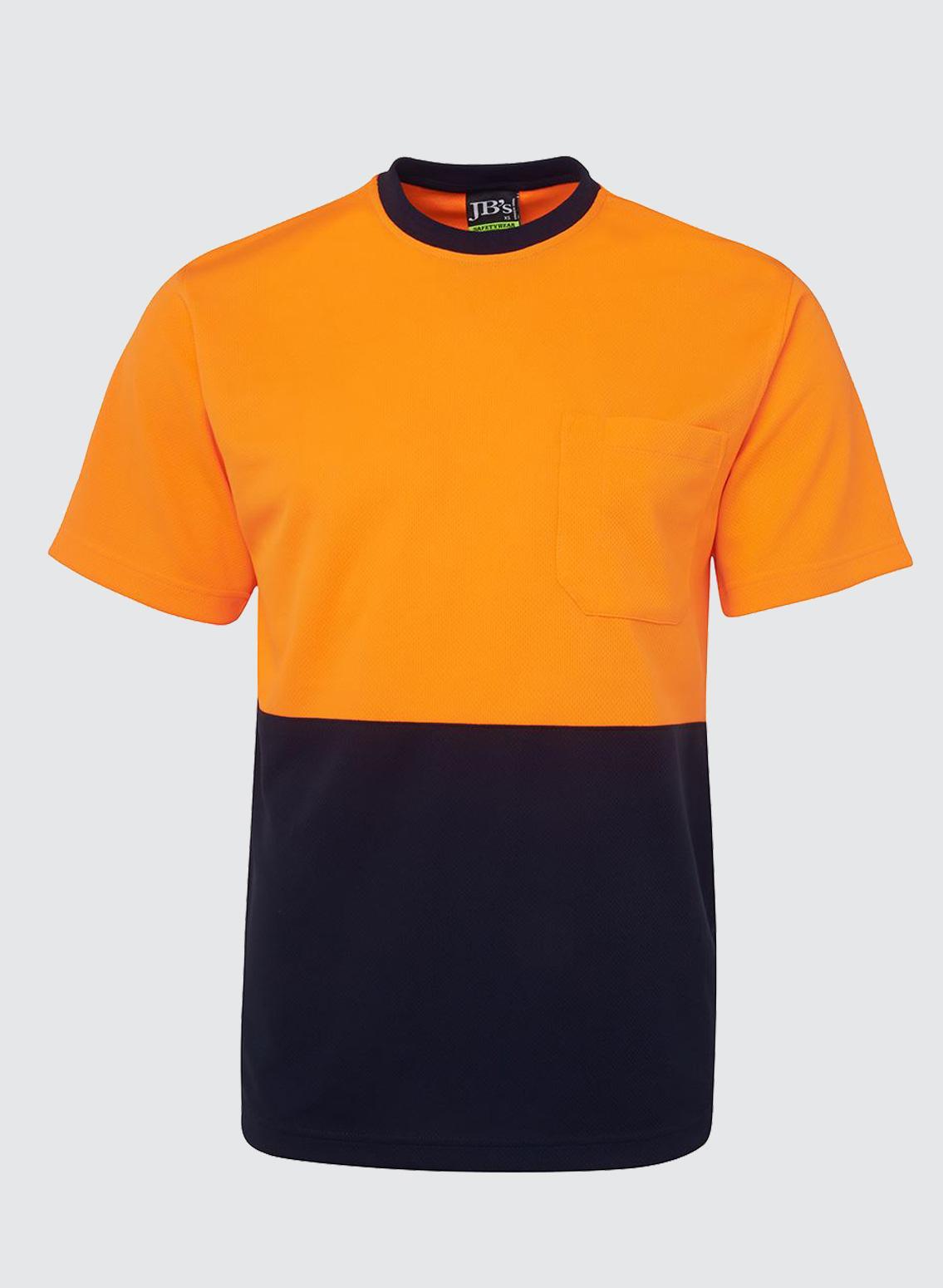 6hvt hi vis traditonal t shirt business image group for Custom hi vis shirts