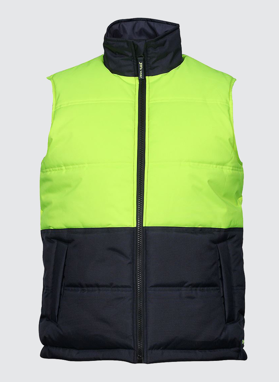 6hrpv Hi Vis Puffer Vest Business Image Group