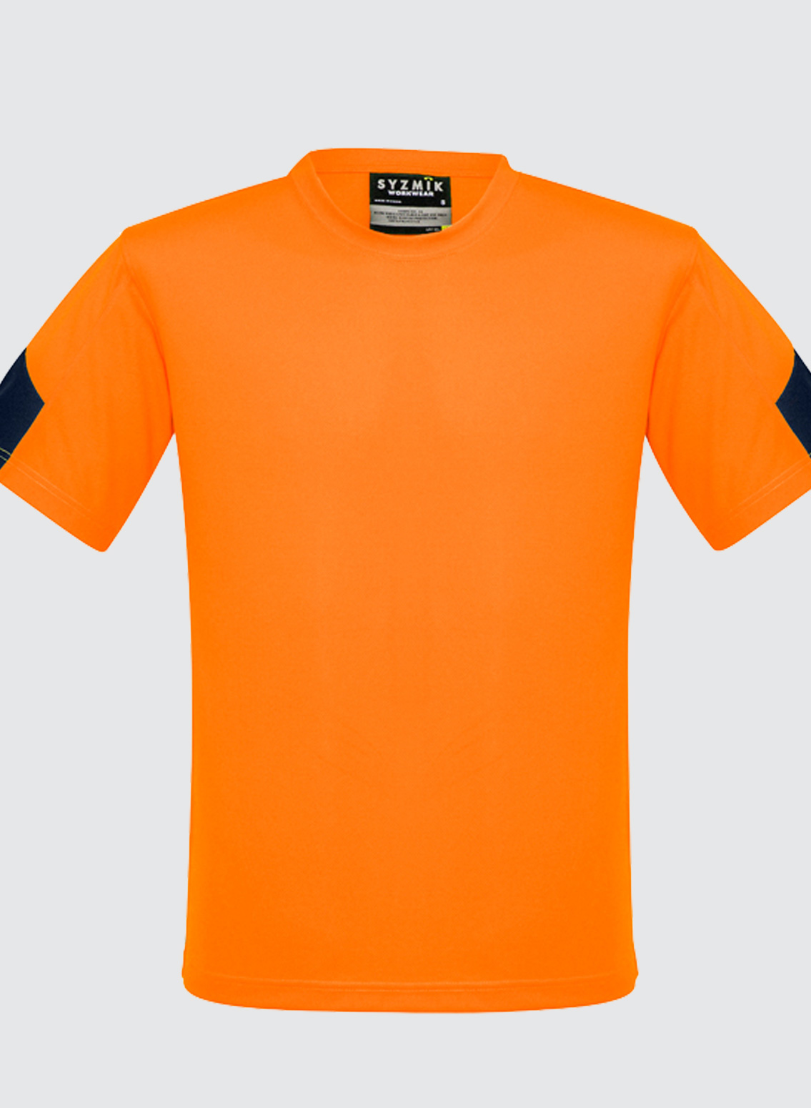 Zw505 mens hi vis squad t shirt business image group for Hi vis t shirt printing