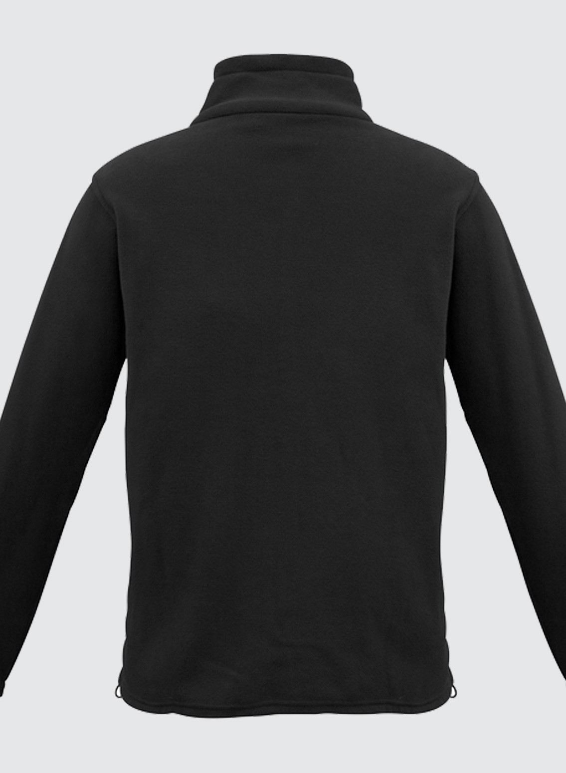 Choose from black fleece jackets in an assortment of styles, such as zip-front jackets, half-zip jackets and quarter-zip pullover jackets. Convenient features like drawcord adjustable hems and zippered hand pockets make these black fleece jackets a pleasure to wear.