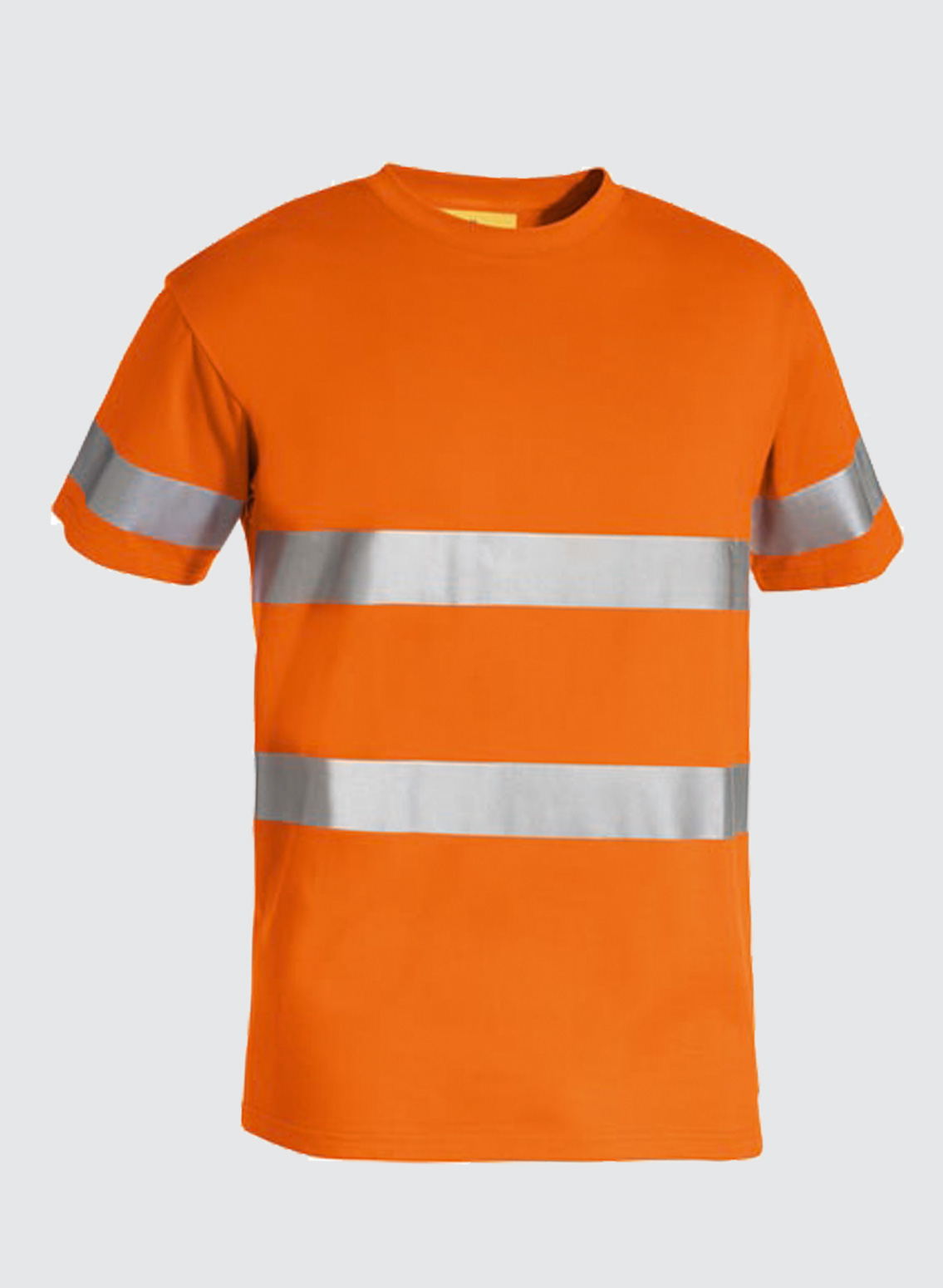 Bk1017t 3m taped hi vis cotton t shirt business image group for Hi vis t shirt printing