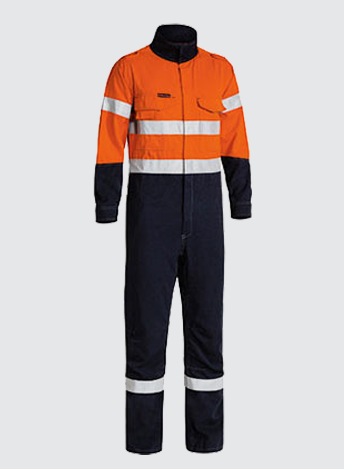 23793a985652 BC8086T TENCATE TECASAFE® PLUS TAPED 2 TONE HI VIS FR ENGINEERED VENTED  COVERALL